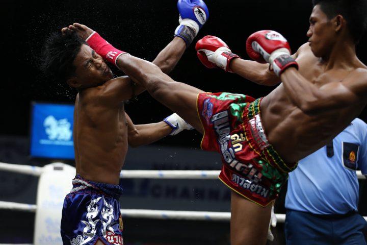 Тайский бокс   Вечернее шоу